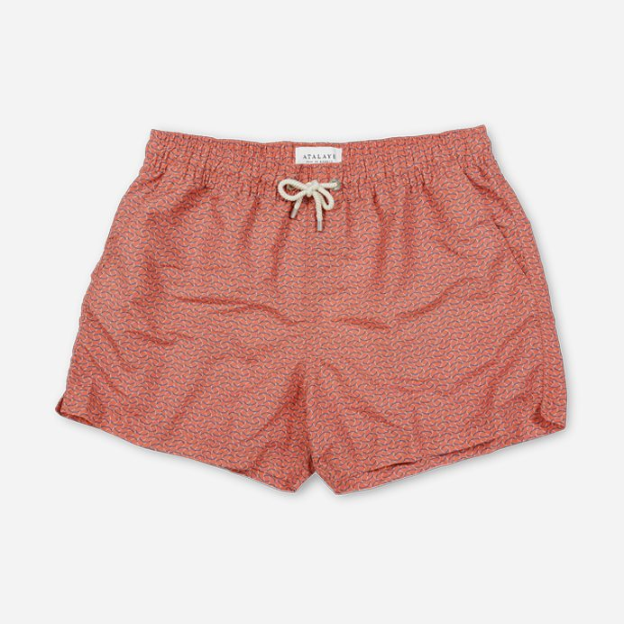 Atalaye Swimshort Barbarenia - Mars Red - 1