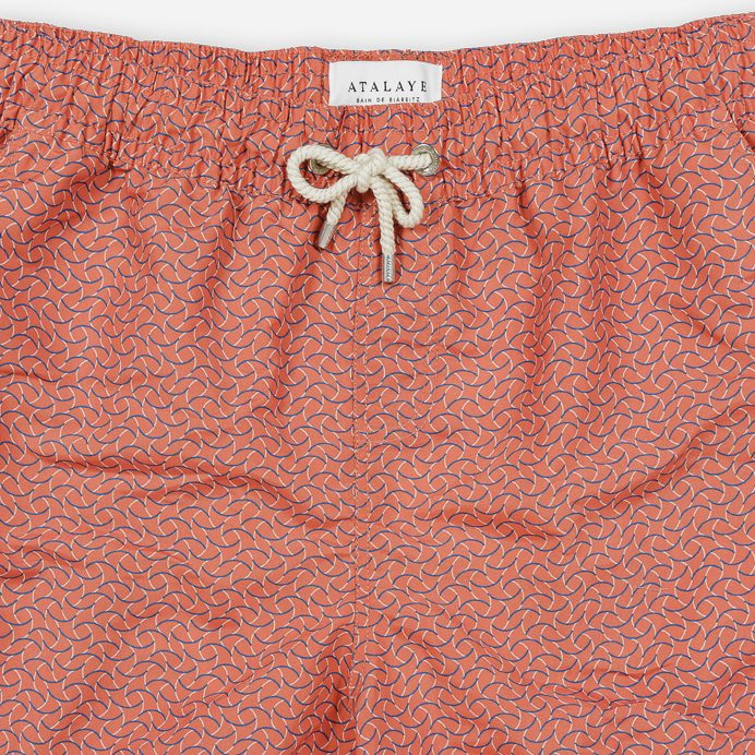 Atalaye Swimshort Barbarenia - Mars Red - 3