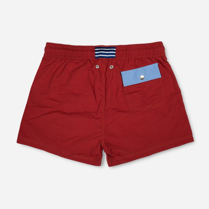 Atalaye Swimshort Frégate Ripstop - Brick red - 2