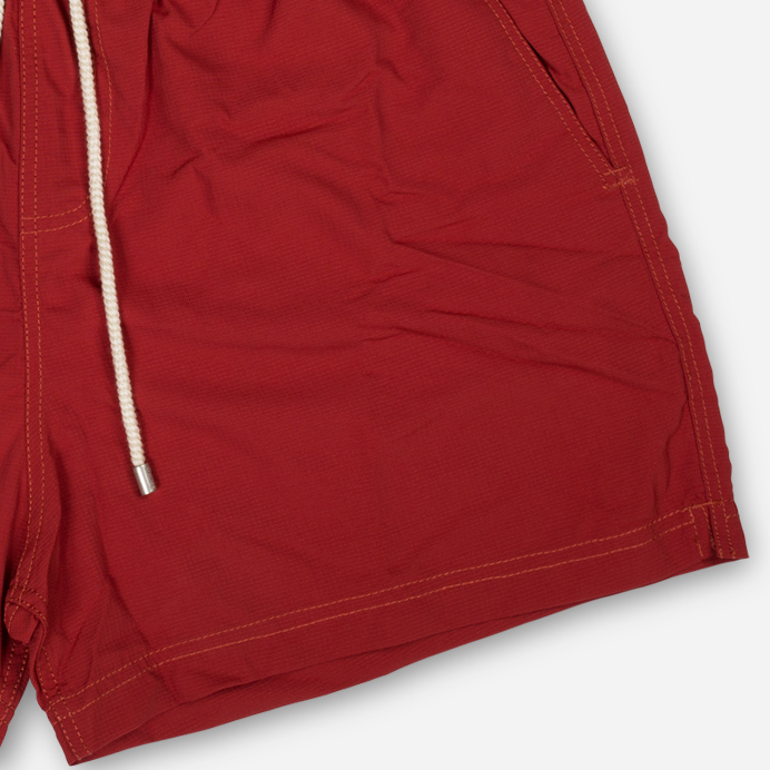 Atalaye Swimshort Frégate Ripstop - Brick red - 4
