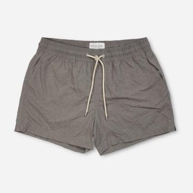 Atalaye Swimshort Frégate - Dark heather grey - 1