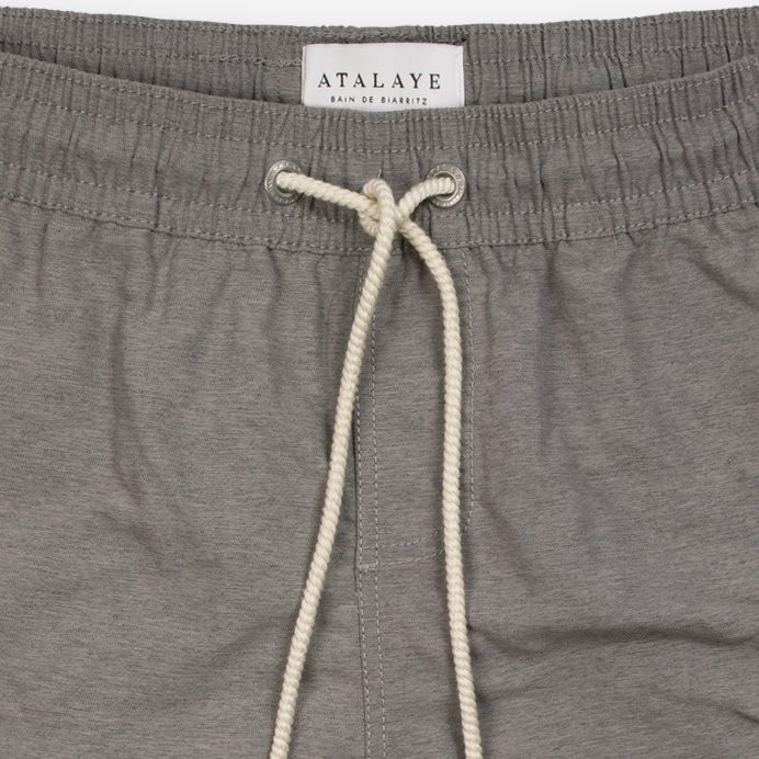 Atalaye Swimshort Frégate - Dark heather grey - 3
