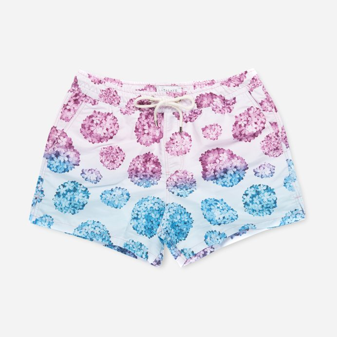 Atalaye Swimshort Hortensias - Rose - 1