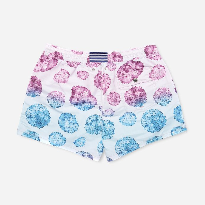 Atalaye Swimshort Hortensias - Rose - 2