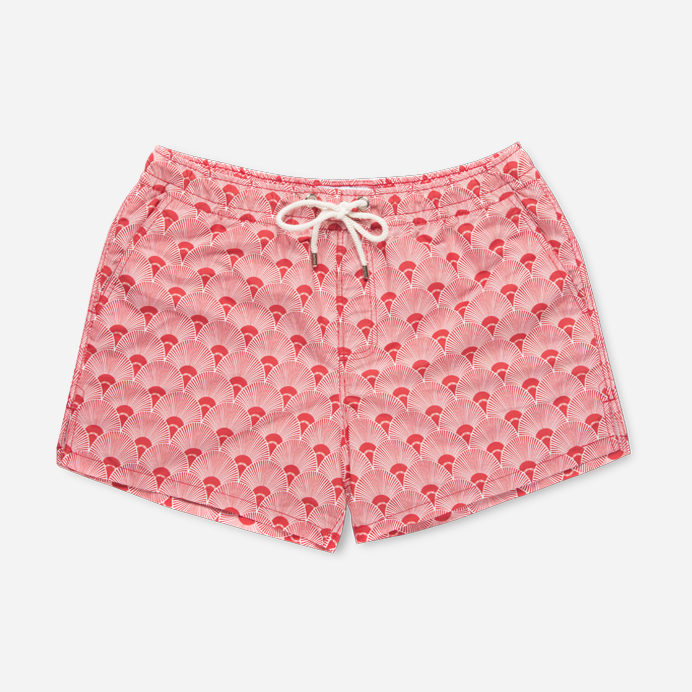 Atalaye Swimshort Ilbarritz - Mars Red - 1