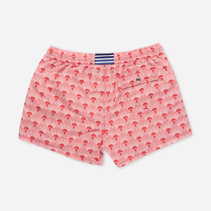 Atalaye Swimshort Ilbarritz - Mars Red - 2