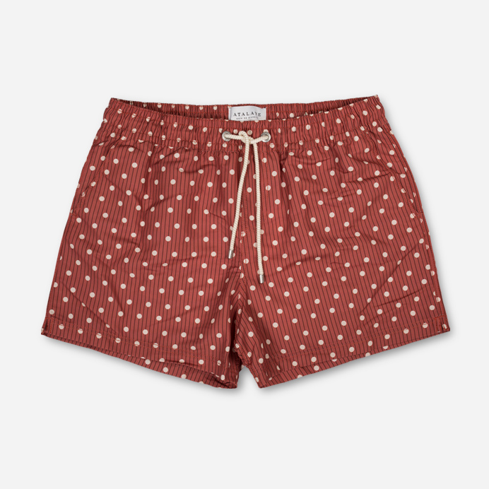 Atalaye Swimshort Kerlys - Brick red - 1