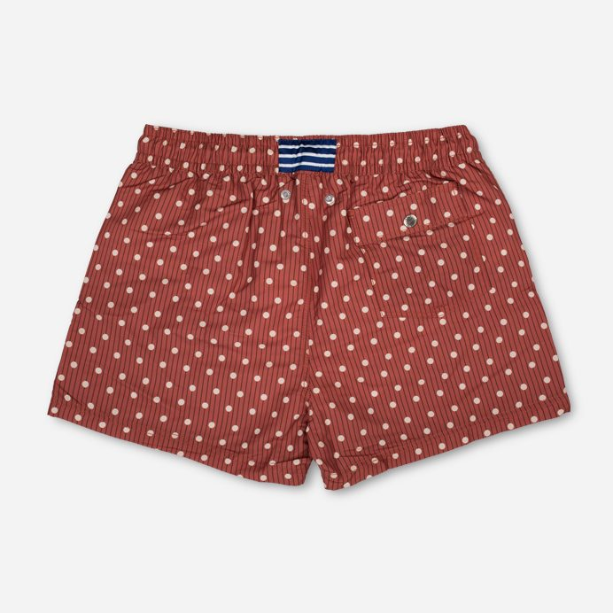 Atalaye Swimshort Kerlys - Brick red - 2