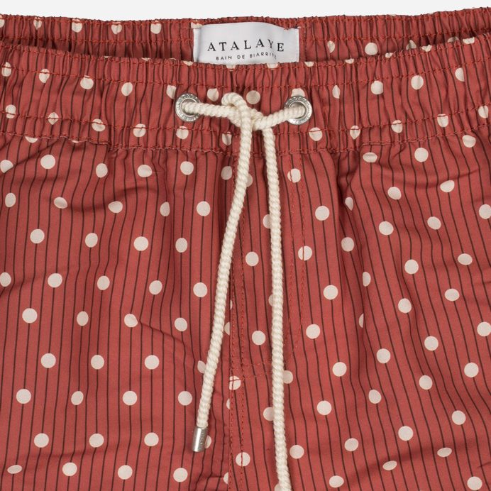 Atalaye Swimshort Kerlys - Brick red - 3