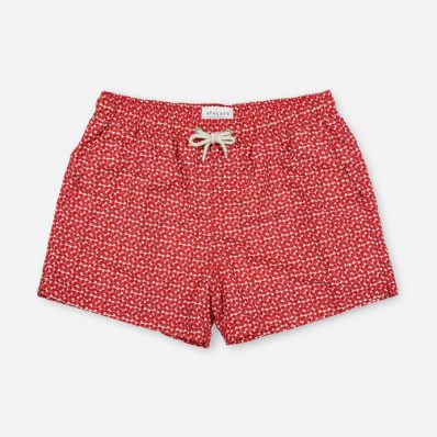 Atalaye Swimshort Plaisance - Mars Red - 1