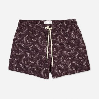 Atalaye Short de bain Catalpas - Purple - 1