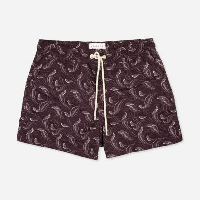 Atalaye Swimshorts Catalpas - Purple - 1