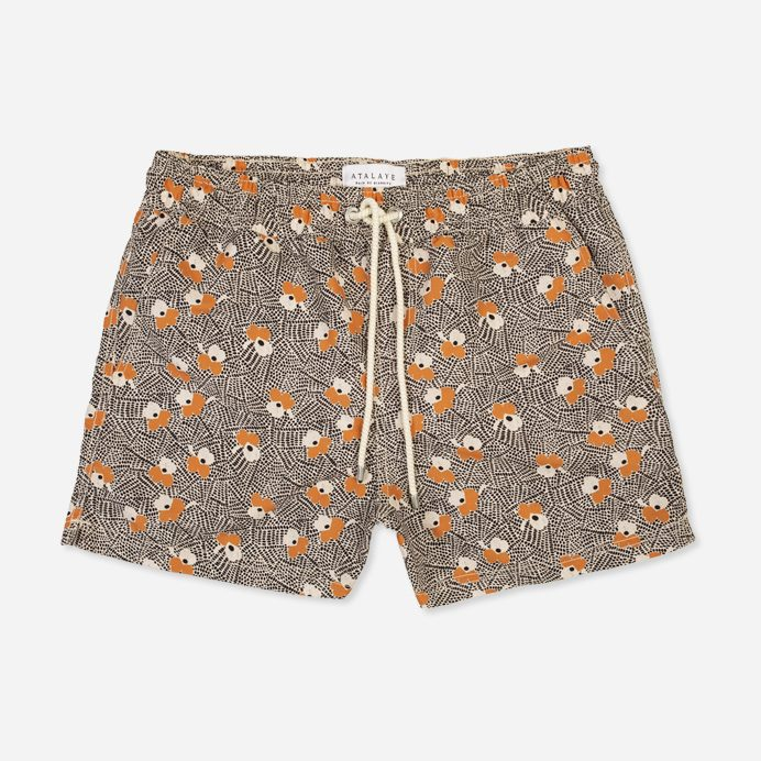 Atalaye Short de bain Luna - Orange - 1