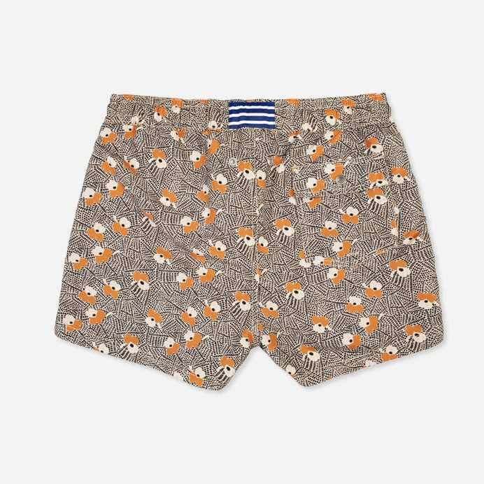 Atalaye Short de bain Luna - Orange - 2