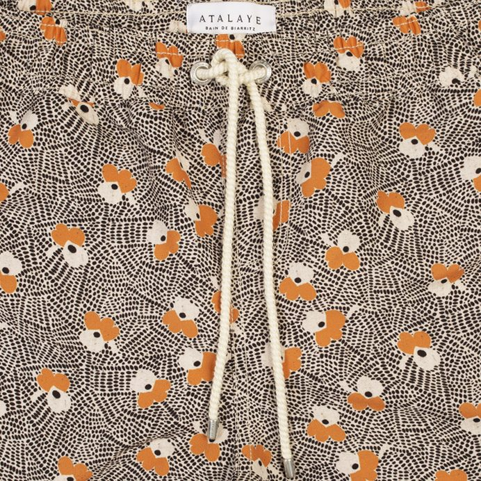 Atalaye Short de bain Luna - Orange - 4