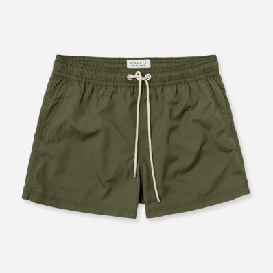 Atalaye Swimshorts Frégate Ripstop Recycled - Seaweed - 1