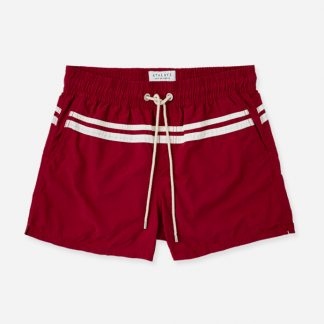 Atalaye Swimshorts Roya - Wine Red - 1