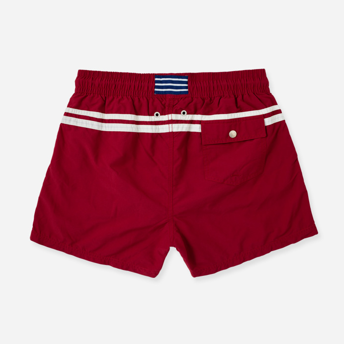 Atalaye Swimshorts Roya - Wine Red - 2