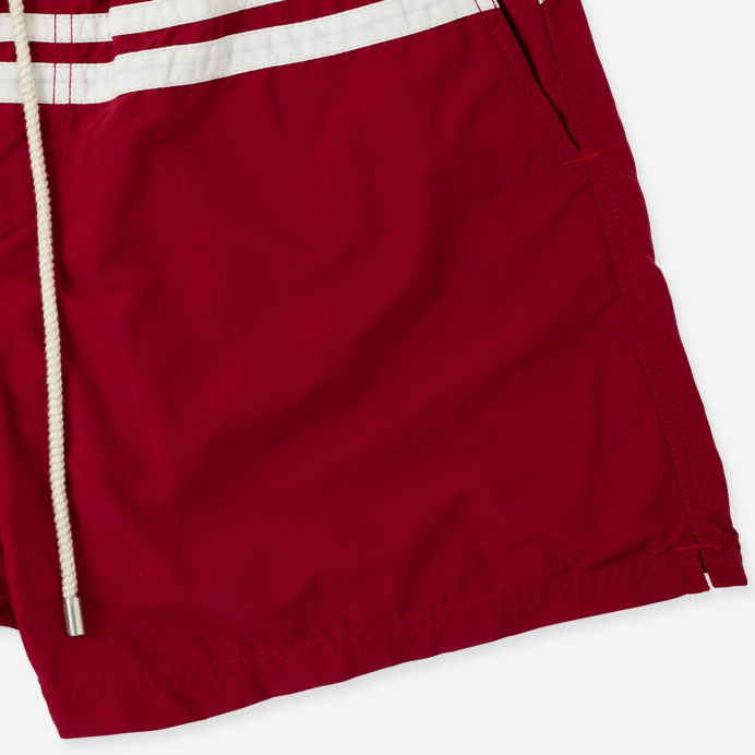 Atalaye Swimshorts Roya - Wine Red - 3