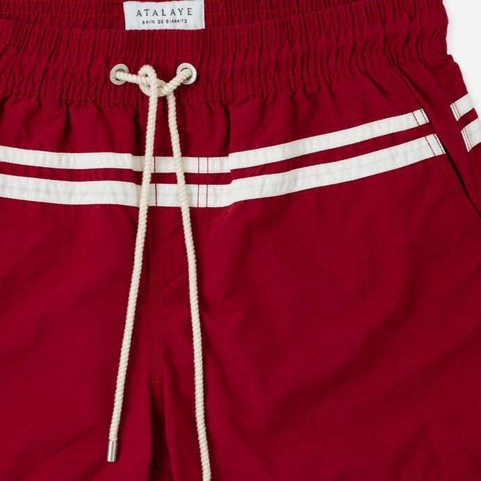 Atalaye Short de bain Roya - Wine Red - 4