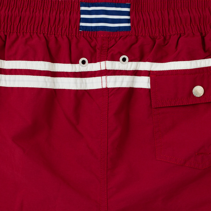 Atalaye Swimshorts Roya - Wine Red - 5