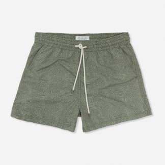 Atalaye Swim shorts Lehena -  Green Clay - 1