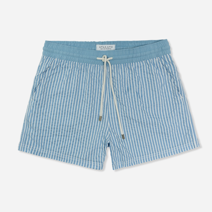 Atalaye Swim shorts Miramar - Light Blue - 1
