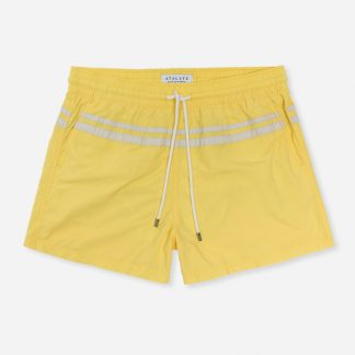 Atalaye Short de bain Roya - Pale Yellow - 1