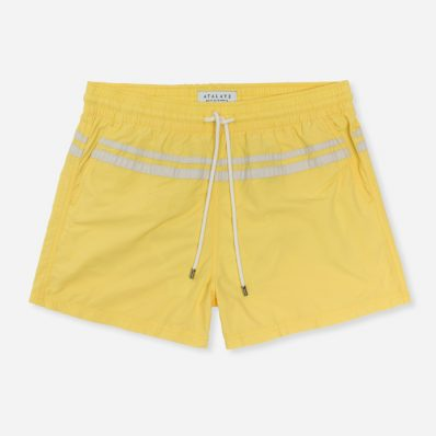 Atalaye Swim shorts Roya - Pale Yellow - 1